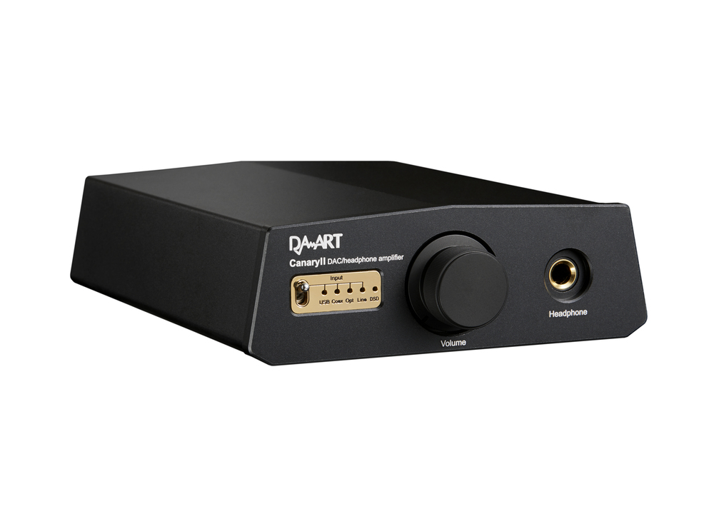 Canary II PCM768Khz  DAC Class A headphone amplifier