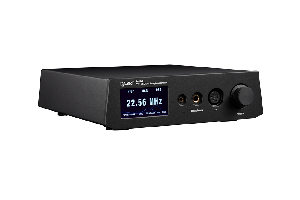 Aquila II PCM768Khz  DAC/preamp/headphone amplifier